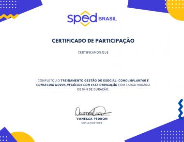 White Geometric Design Participation Certificate (1)